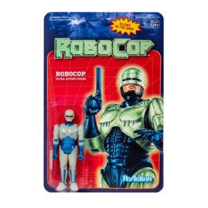 ROBOCOP GLOW IN THE DARK FIGURINE ROBOCOP RE-ACTION SUPER7 10 CM 840049803633 kingdom-figurine.fr