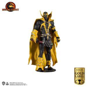 SPAWN CURSE OF APOCALYPSE FIGURINE MORTAL KOMBAT GOLD SERIES McFARLANE TOYS 18 CM 787926110265 kingdom-figurine.fr