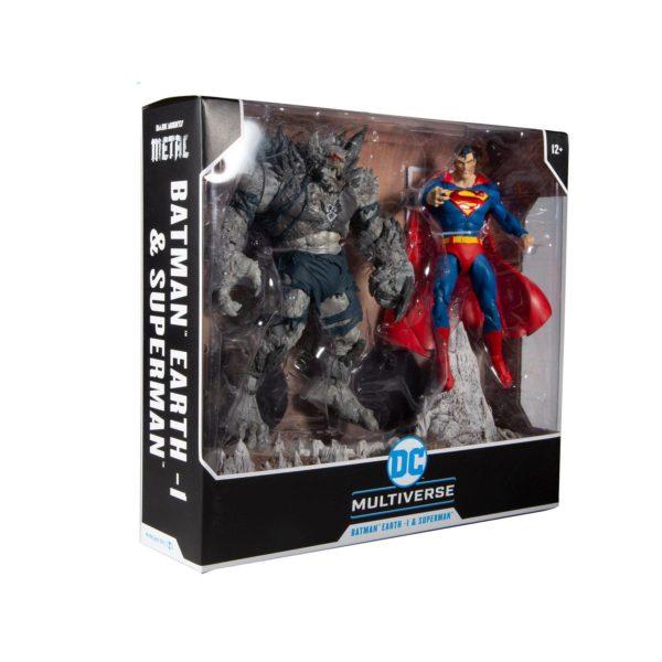 SUPERMAN VS DEVASTATOR PACK 2 FIGURINES DARK KNIGHTS METAL EARTH 1 McFARLANE TOYS 18 CM 787926154511 kingdom-figurine.fr (10)