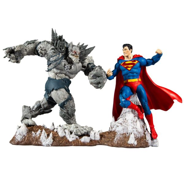 SUPERMAN VS DEVASTATOR PACK 2 FIGURINES DARK KNIGHTS METAL EARTH 1 McFARLANE TOYS 18 CM 787926154511 kingdom-figurine.fr (2)