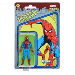 THE AMAZING SPIDER-MAN FIGURINE MARVEL LEGENDS RETRO COLLECTION SERIES HASBRO 10 CM 5010993842582 kingdom-figurine.fr