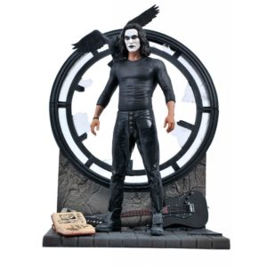 THE CROW STATUETTE THE CROW MOVIE GALLERY DIAMOND SELECT 23 CM 699788842089 kingdom-figurine.fr