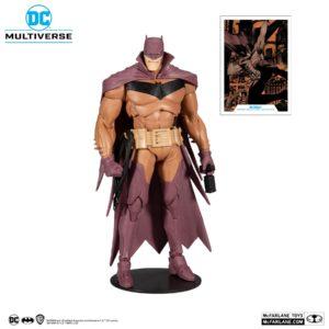 WHITE KNIGHT BATMAN RED VARIANT FIGURINE DC MULTIVERSE McFARLANE TOYS 18 CM 787926151381 kingdom-figurine.fr