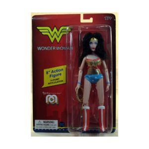 WONDER WOMAN RETRO FIGURINE DC COMICS MEGO 20 CM 850002478235 kingdom-figurine.fr