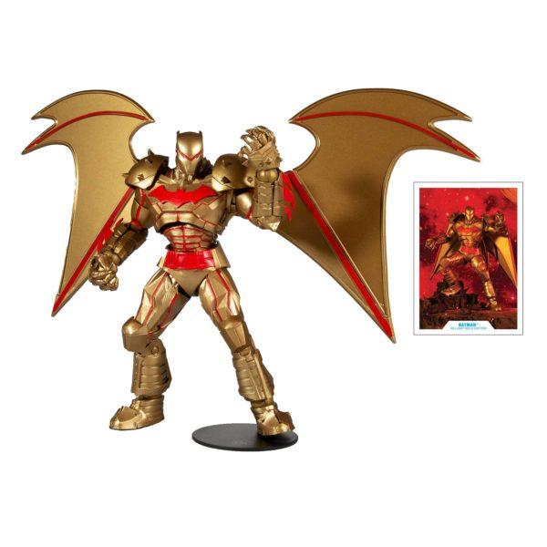 BATMAN HELLBAT SUIT GOLD EDITION FIGURINE DC MULTIVERSE McFARLANE TOYS 18 CM 787926151749 kingdom-figurine.fr