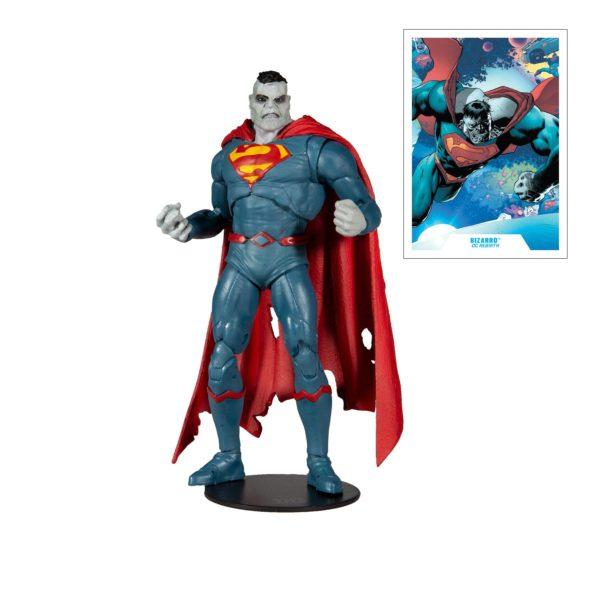 BIZARRO FIGURINE DC REBIRTH McFARLANE TOYS 18 CM 787926151459 kingdom-figurine.fr
