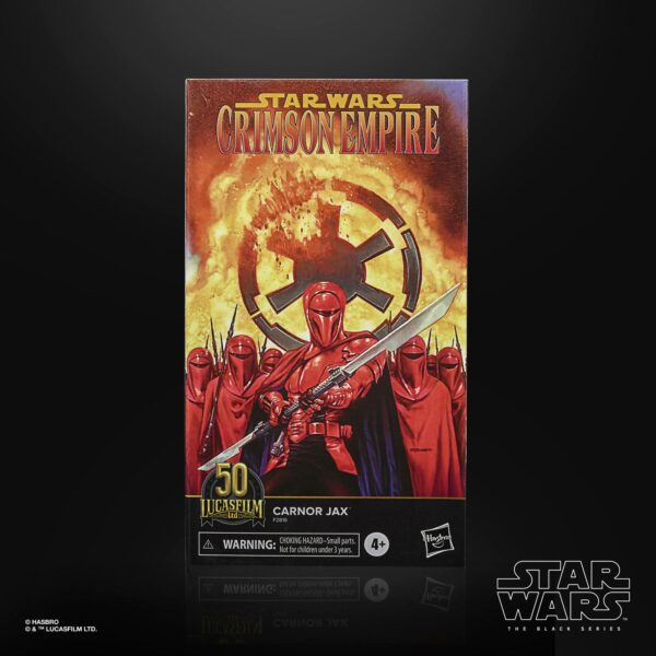 CARNOR JAX FIGURINE STAR WARS CRIMSON EMPIRE BLACK SERIES LUCASFILM 50TH ANNIVERSARY HASBRO 15 CM 5010993863242 kingdom-figurine.fr (6)