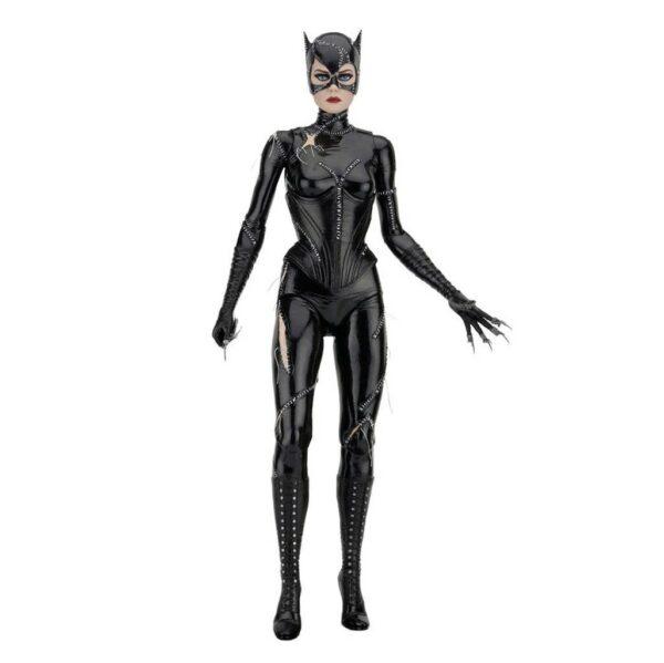 CATWOMAN MICHELLE PFEIFFER FIGURINE 14 BATMAN LE DEFI NECA 45 CM 634482614358 kingdom-figurine.fr