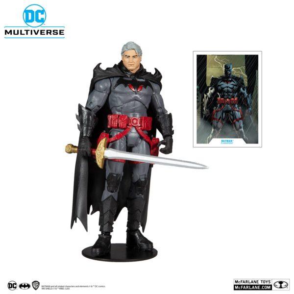 FLASHPOINT BATMAN UNMASKED FIGURINE DC MULTIVERSE McFARLANE TOYS 18 CM 787926150186 kingdom-figurine.fr