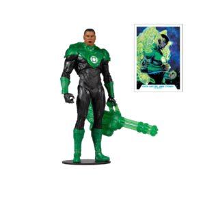 GREEN LANTERN JOHN STEWART FIGURINE DC REBIRTH McFARLANE TOYS 18 CM 787926151312 kingdom-figurine.fr