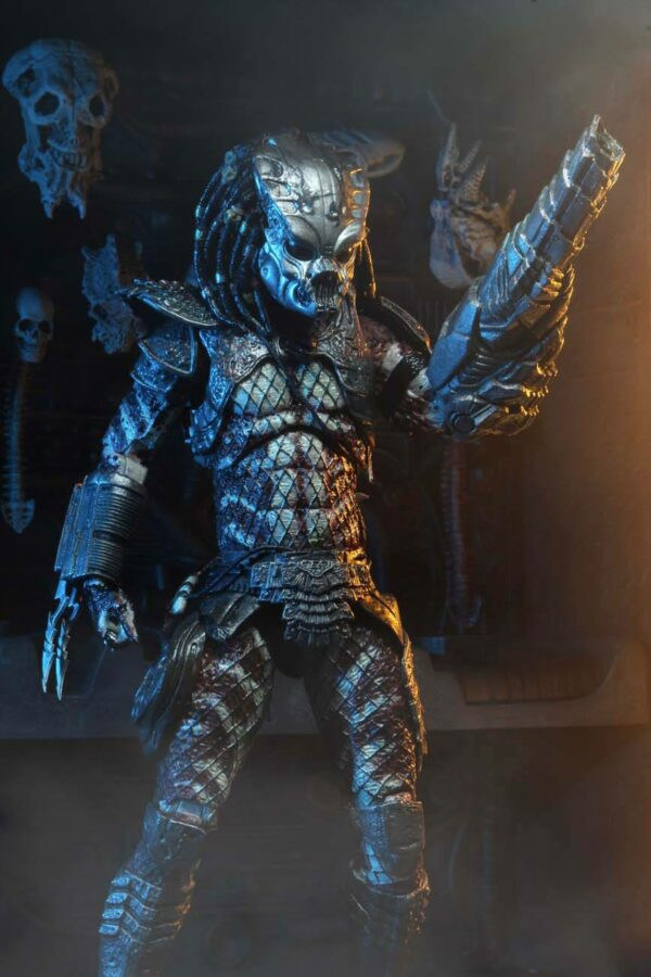 GUARDIAN PREDATOR FIGURINE ULTIMATE PREDATOR 2 NECA 20 CM 634482514238 kingdom-figurine.fr (6)