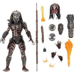 GUARDIAN PREDATOR FIGURINE ULTIMATE PREDATOR 2 NECA 20 CM 634482514238 kingdom-figurine.fr