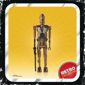 IG-11 FIGURINE STAR WARS THE MANDALORIAN RETRO COLLECTION HASBRO 10 CM 5010993809097 kingdom-figurine.fr