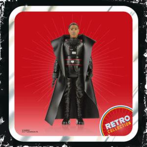 MOFF GIDEON FIGURINE STAR WARS THE MANDALORIAN RETRO COLLECTION HASBRO 10 CM 5010993809165 kingdom-figurine.fr