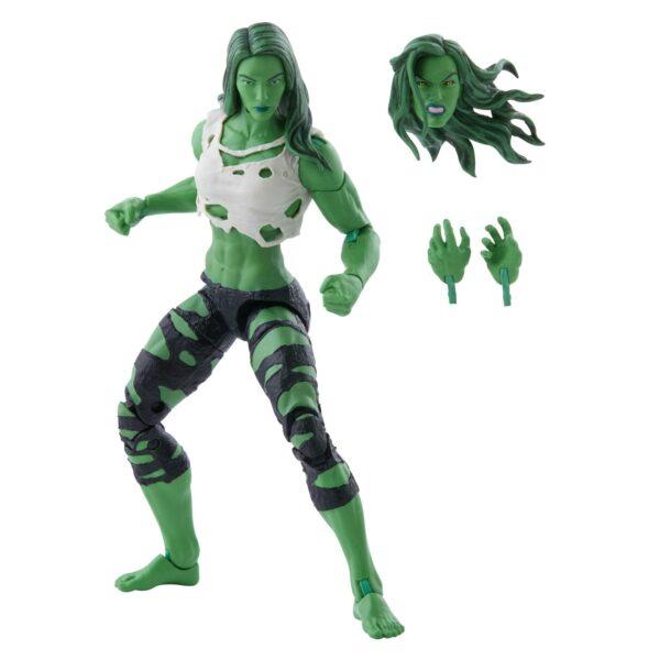 SHE-HULK FIGURINE MARVEL LEGENDS HASBRO 15 CM 5010993842391 kingdom-figurine.fr (2)