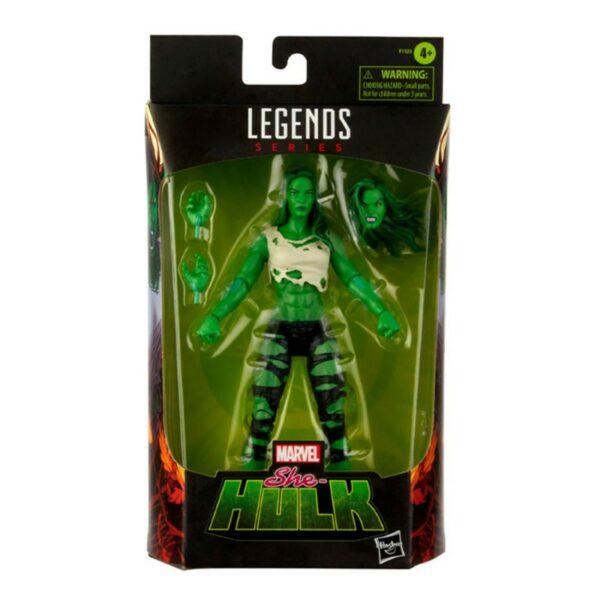 SHE-HULK FIGURINE MARVEL LEGENDS HASBRO 15 CM 5010993842391 kingdom-figurine.fr