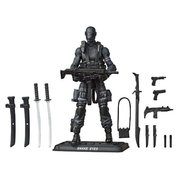SNAKE EYES FIGURINE G.I. JOE RETRO COLLECTION SERIES HASBRO 5010993723003 kingdom-figurine.fr (2)
