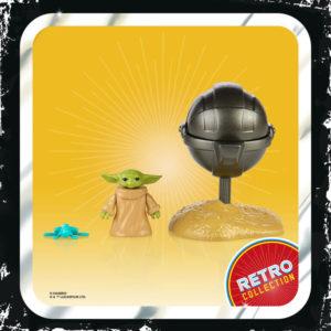 THE CHILD FIGURINE STAR WARS THE MANDALORIAN RETRO COLLECTION HASBRO F2023 5010993809110 kingdom-figurine.fr