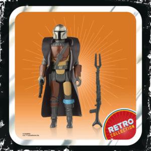 THE MANDALORIAN FIGURINE STAR WARS THE MANDALORIAN RETRO COLLECTION HASBRO 10 CM 5010993809073 kingdom-figurine.fr.1bis