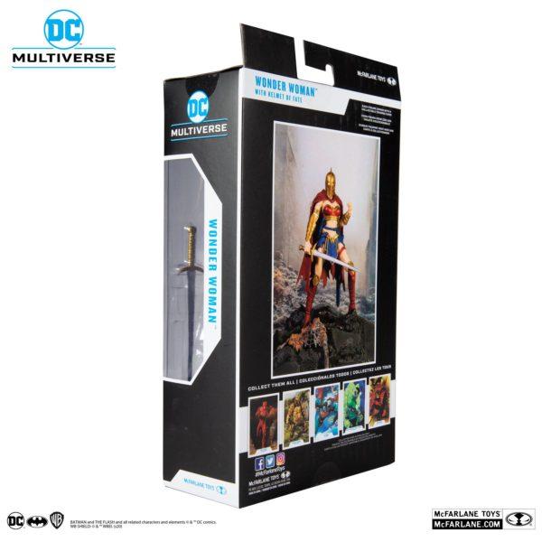 WONDER WOMAN WITH HELMET FIGURINE LAST KNIGHT ON EARTH McFARLANE TOYS 18 CM 787926151756 kingdom-figurine.fr (10)