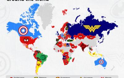 Plutôt Marvel ou DC : zoom sur une étude mondiale sur les super-héros populaires