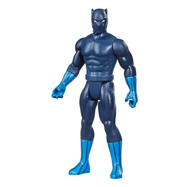 BLACK PANTHER FIGURINE MARVEL LEGENDS RETRO COLLECTION SERIES HASBRO 10 CM 5010993848959 kingdom-figurine.fr (2)