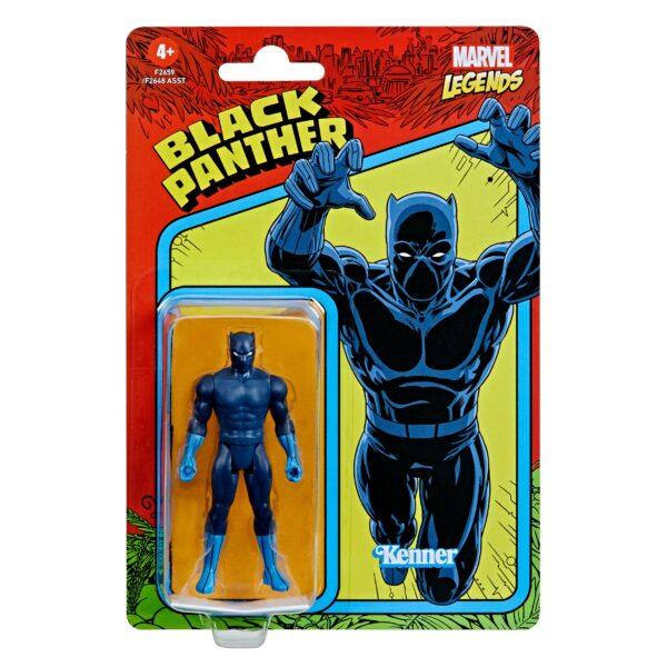 BLACK PANTHER FIGURINE MARVEL LEGENDS RETRO COLLECTION SERIES HASBRO 10 CM 5010993848959 kingdom-figurine.fr