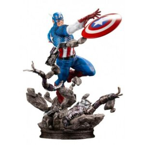 CAPTAIN AMERICA STATUETTE 1-6 MARVEL COMICS FINE ART KOTOBUKIYA 36 CM 4934054023943 kingdom-figurine.fr