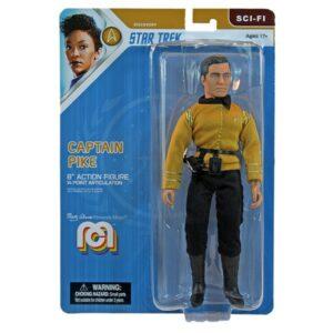 CAPTAIN PIKE FIGURINE STAR TREK DISCOVERY MEGO 20 CM 850003511450 kingdom-figurine.fr