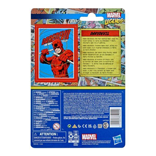 DAREDEVIL FIGURINE MARVEL LEGENDS RETRO COLLECTION SERIES HASBRO 10 CM 5010993849000 kingdom-figurine.fr (3)