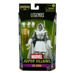 DOCTOR DOOM FIGURINE MARVEL SUPER VILLAINS MARVEL LEGENDS HASBRO 15 CM 5010993834716 kingdom-figurine.fr