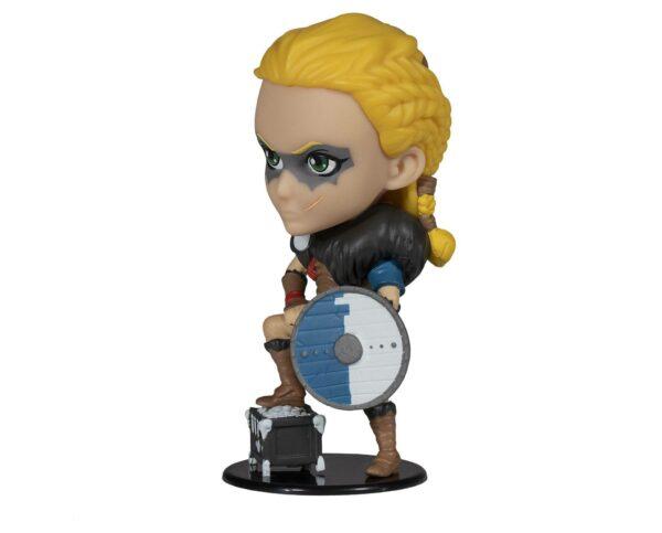 EIVOR FEMALE FIGURINE CHIBI ASSASSIN'S CREED VALHALLA UBISOFT HEROES COLLECTION 10 CM 3307216154198 kingdom-figurine.fr (2)