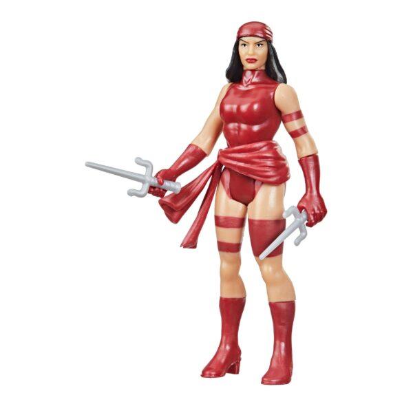 ELEKTRA FIGURINE MARVEL LEGENDS RETRO COLLECTION SERIES HASBRO 10 CM 5010993848980 kingdom-figurine.fr (2)