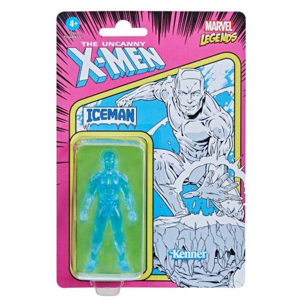ICEMAN FIGURINE MARVEL LEGENDS RETRO COLLECTION SERIES HASBRO 10 CM 5010993848898 kingdom-figurine.fr