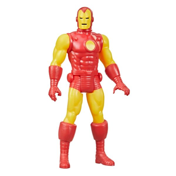 IRON MAN FIGURINE MARVEL LEGENDS RETRO COLLECTION SERIES HASBRO 10 CM 5010993848911 kingdom-figurine.fr (2)