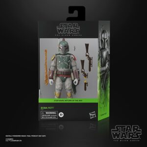 BOBA FETT FIGURINE DELUXE STAR WARS EPISODE VI BLACK SERIES HASBRO 15 CM 5010993804740 kingdom-figurine.fr
