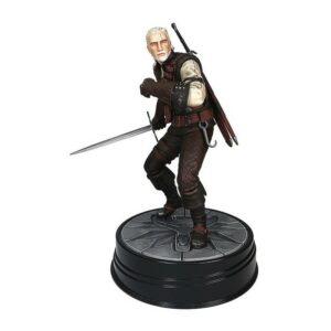 GERALT MANTICORE STATUETTE PVC WITCHER 3 WILD HUNT DARK HORSE 20 CM 761568007572 kingdom-figurine.fr
