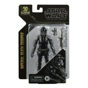 IMPERIAL DEATH TROOPER FIGURINE STAR WARS BLACK SERIES ARCHIVE HASBRO 15 CM 5010993825417 kingdom-figurine.fr