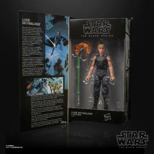 LUKE SKYWALKER & YSALAMIRI FIGURINE STAR WARS HTTE BLACK SERIES HASBRO 15 CM 5010993872817 kingdom-figurine.fr