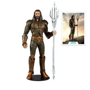 AQUAMAN FIGURINE DC JUSTICE LEAGUE MOVIE McFARLANE TOYS 18 CM 787926150919 kingdom-figurine.fr