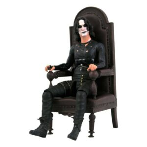 ERIC DRAVEN IN CHAIR FIGURINE DELUXE THE CROW SDDC 2021 EXCLUSIVE DIAMOND SELECT 18 CM 699788845271 kingdom-figurine.fr