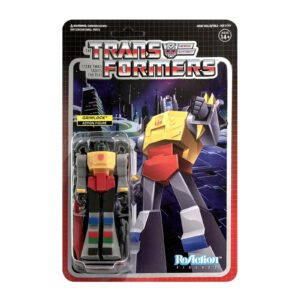 GRIMLOCK FIGURINE TRANSFORMERS WAVE 2 RE-ACTION SUPER7 10 CM 840049806764 kingdom-figurine.fr