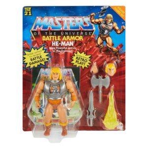 BATTLE ARMOR HE-MAN DELUXE FIGURINE SET MASTERS OF THE UNIVERSE MATTEL 14 CM 887961929652 kingdom-figurine.fr