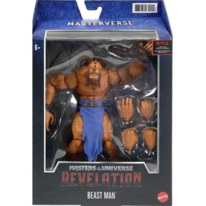 BEAST MAN FIGURINE MASTERS OF THE UNIVERSE REVELATION MASTERVERSE MATTEL 18 CM 887961979909 kingdom-figurine.fr