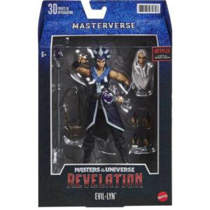 EVIL-LYN FIGURINE MASTERS OF THE UNIVERSE REVELATION MASTERVERSE MATTEL 18 CM 887961979848 kingdom-figurine.fr